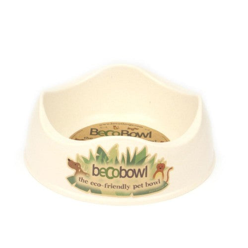 Eco-friendly Pet Bowl - Cream