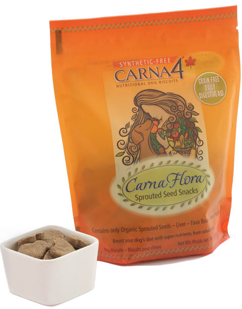 CarnaFlora Sprouted Grain Snacks