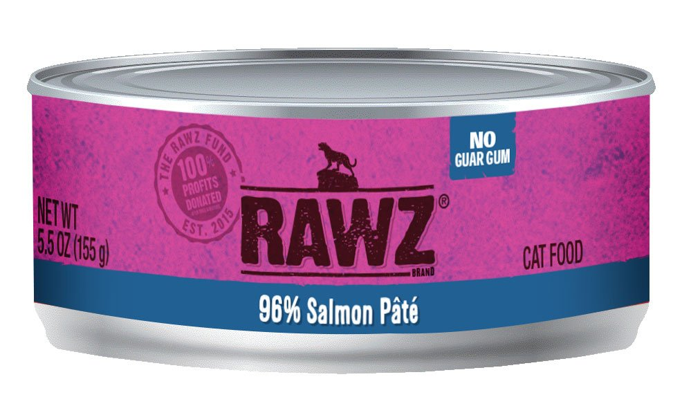 Salmon Cat Recipe 96% Meat Gum Free Pâté Cans