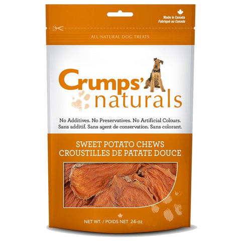 Crump's Naturals Sweet Potato Chews