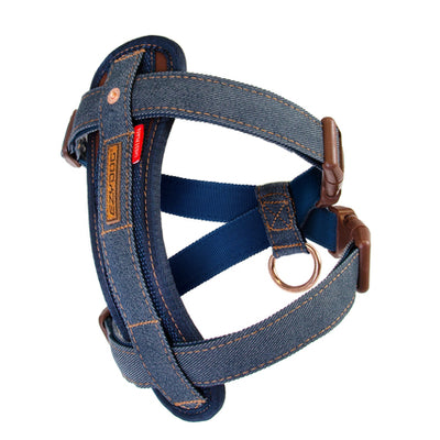 Friday Collective Denim Chest Plate Harness