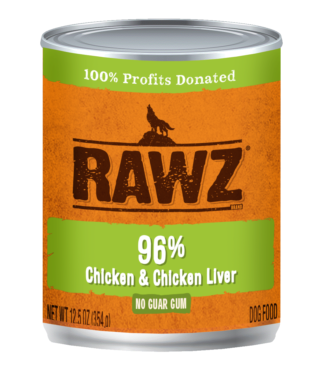 Chicken & Chicken Liver Recipe 96% Meat Gum Free Pâté Cans