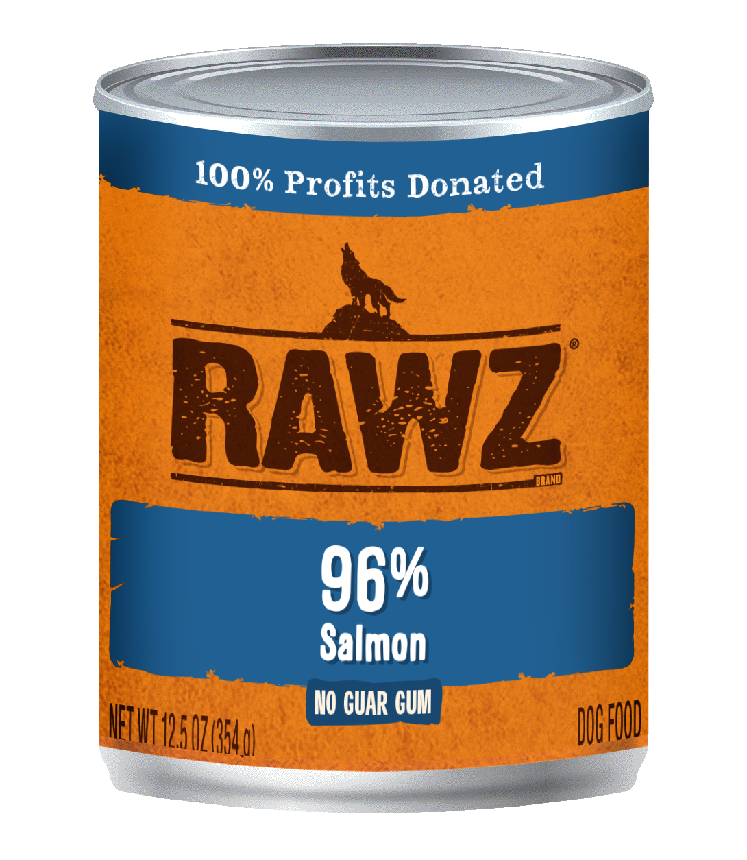 Salmon Recipe 96% Meat Gum Free Pâté Cans