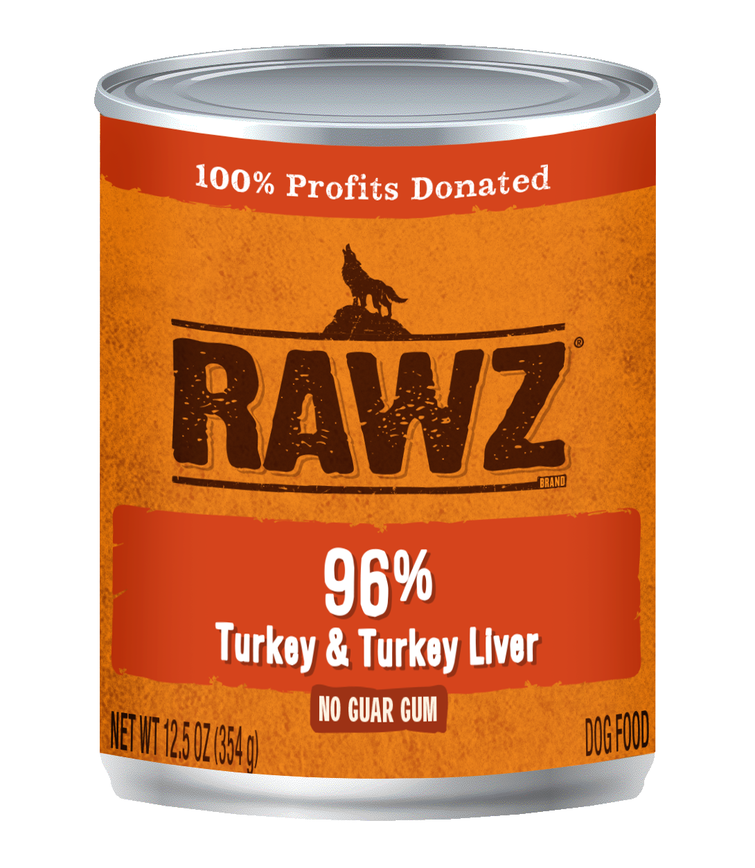 Turkey & Turkey Liver Recipe 96% Meat Gum Free Pâté Cans