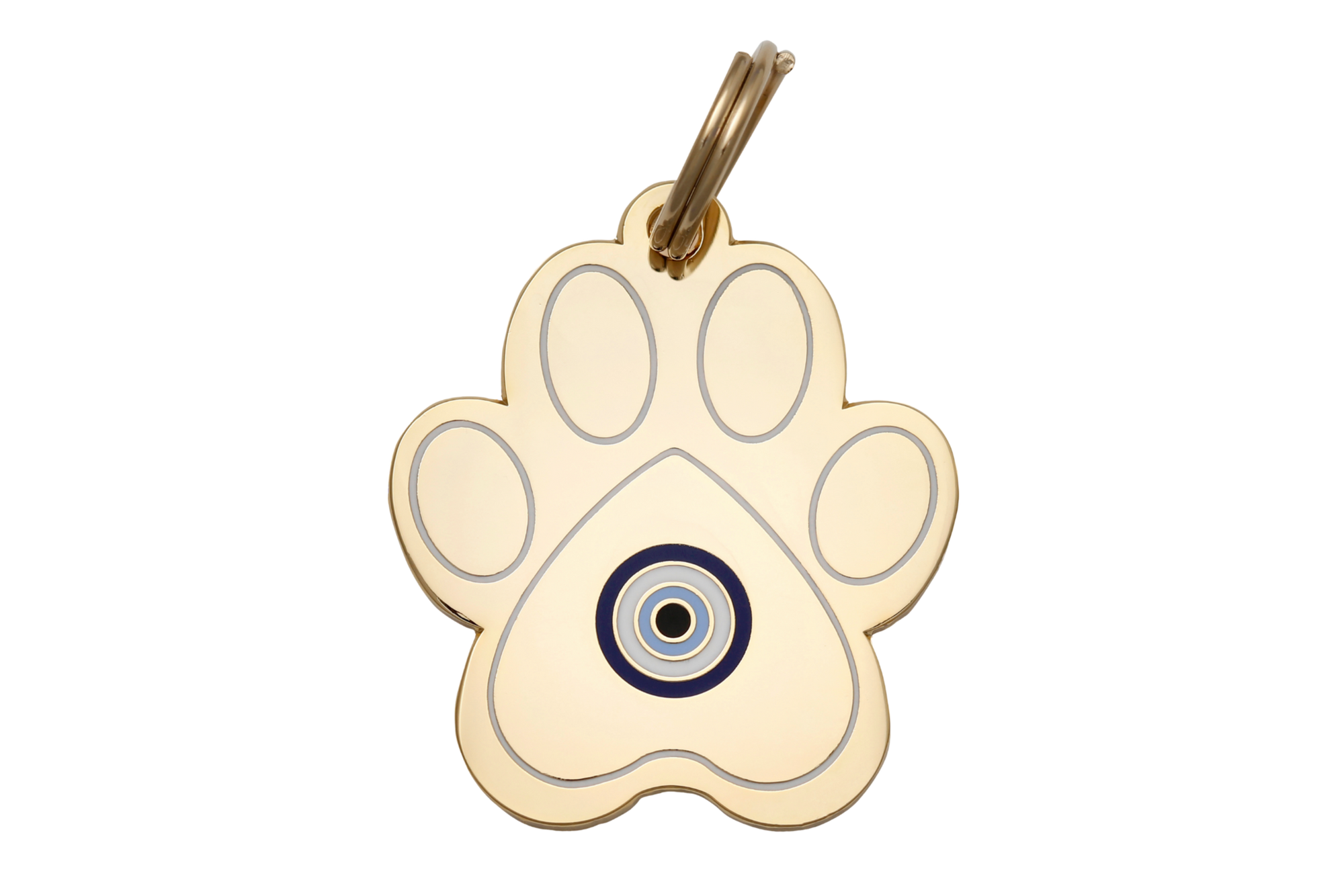 Pet I.D. Tag - Paw Evil Eye