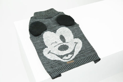Max Bone Mickey Mouse Sweater