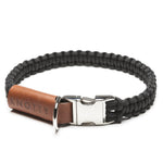KNOTTY Classic Black Collar