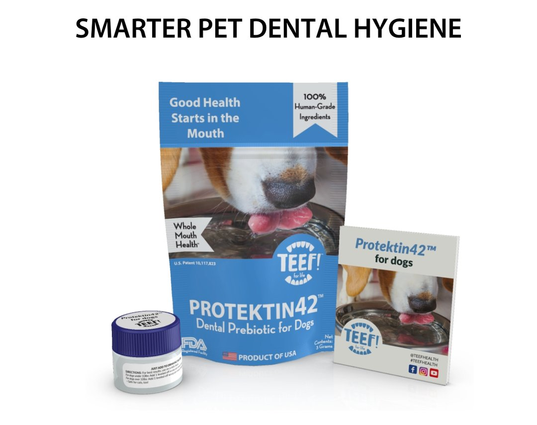 TEEF! Drinkable Dental Health Protektin42