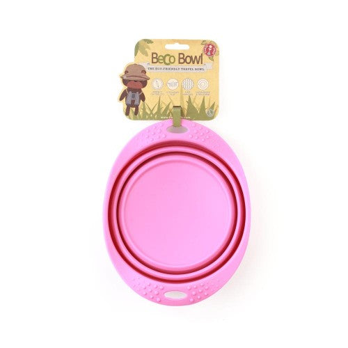 Eco-friendly Travel Bowl - Pink