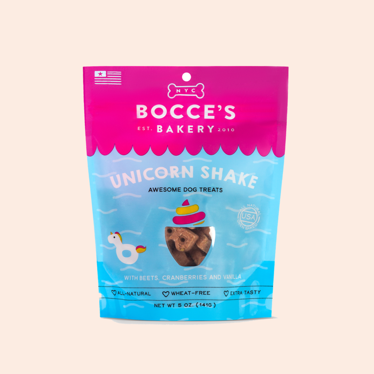 Unicorn Shake Awesome Dog Treats