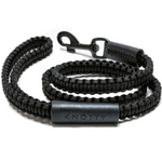 KNOTTY Triple Black Leash