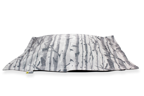 Birch Wood Cloud Bed