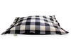 Black Plaid Cloud Bed