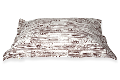 Wood Grain Cloud Pillow