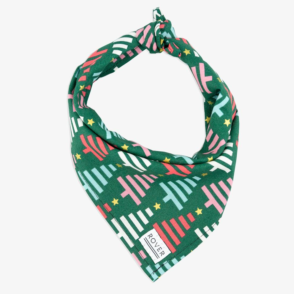 Holiday Tree Bandana