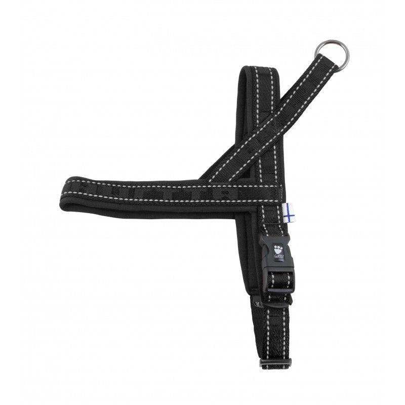 Casual Padded Harness - Black