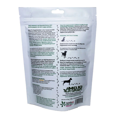 MOJO 100% ALL-NATURAL PET SUPPORT SUPPLEMENTS