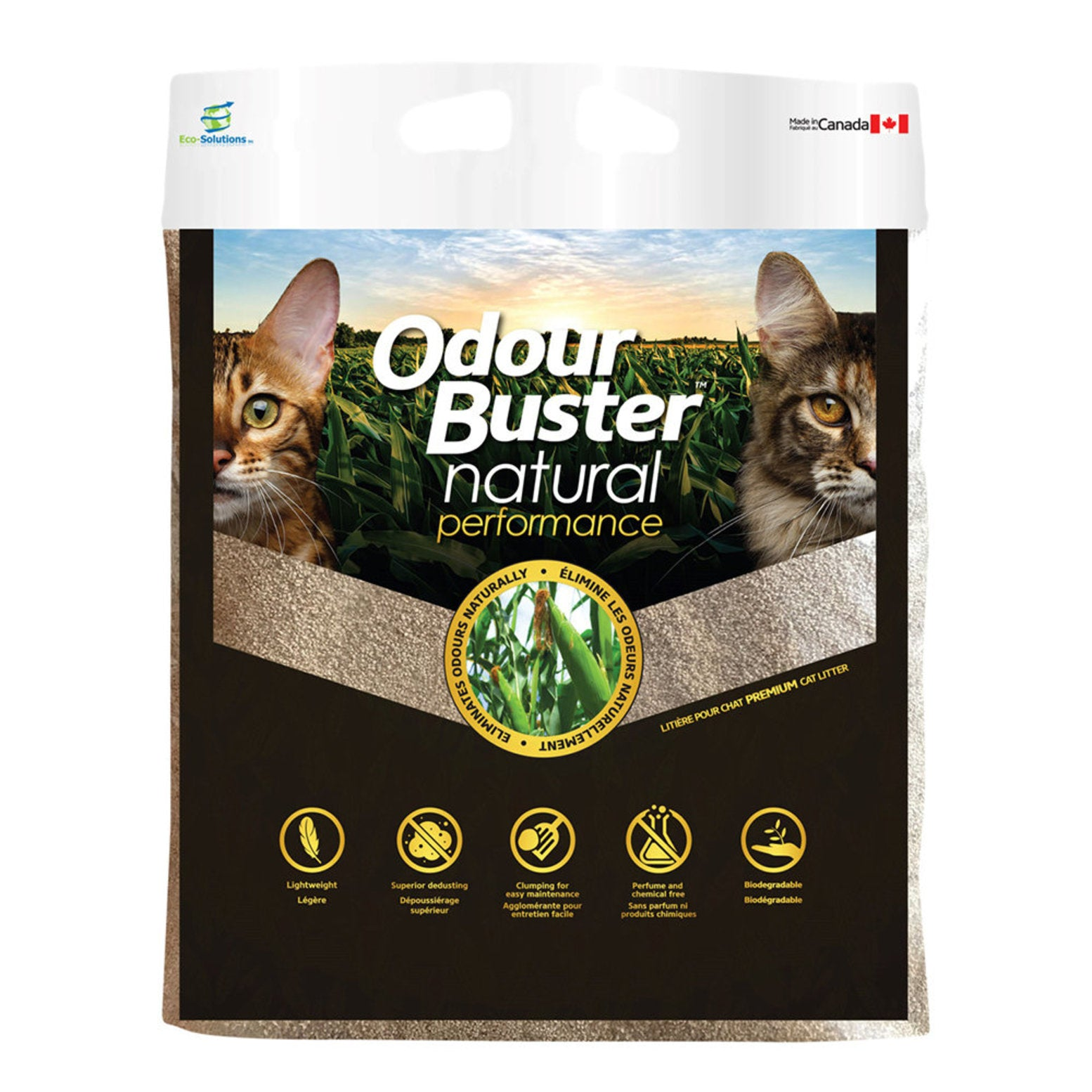 Odour Buster Natural Performance - 12 kg