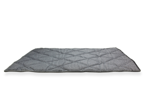 Upturn Mat - Dark Grey