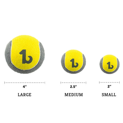 Be One Breed Sturdy Tennis Ball Size Chart
