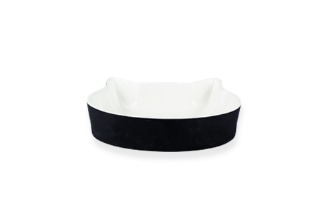 Trendy Porcelain Cat Bowl
