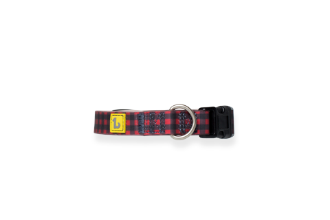 Be One Breed Buffalo Plaid Silicone Collar