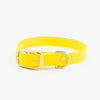 Vegan Leather Collar - Honey Yellow