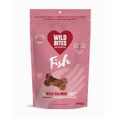 Wild Bites Wild Salmon with Coconut treats - 75g