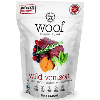 Wild Venison Freeze Dried Dog Bites