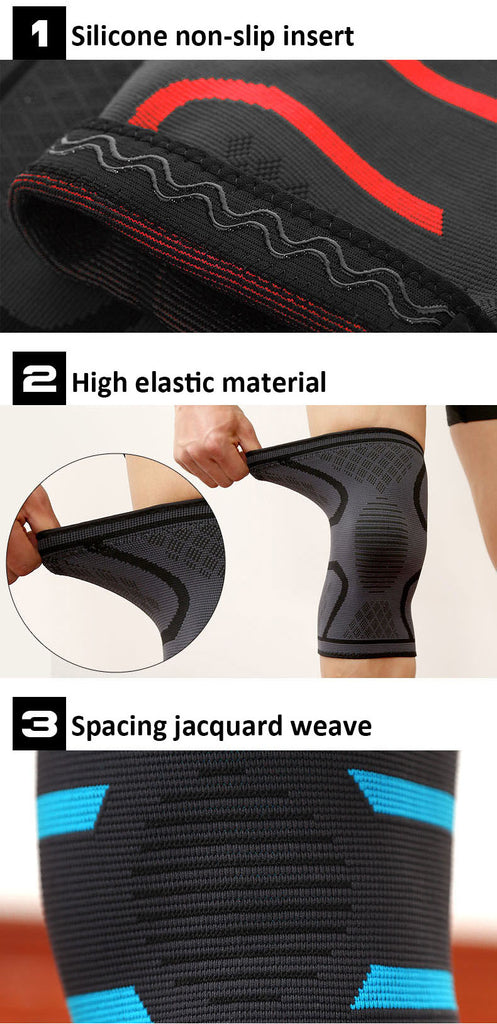 Sport Stabilizing Knee Brace Features