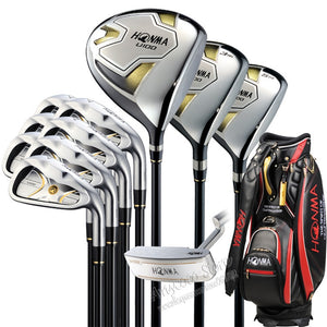 New Honma U100 Complete Clubs Set Driver35 Fairway Woodironsputter Graphite Golf Shaft Headcover Golf Clubs Free Shipping