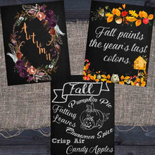 Load image into Gallery viewer, Fall Chalkboard Printables