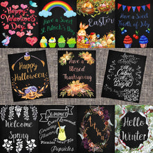 Load image into Gallery viewer, Bundle of Holiday & Seasonal Chalkboard Printables