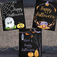 Load image into Gallery viewer, Halloween Chalkboard Printables