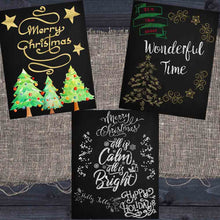 Load image into Gallery viewer, Christmas Chalkboard Printables