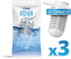 Cirkul Flow Filter (3-Pack) & New Comfort Grip Lid