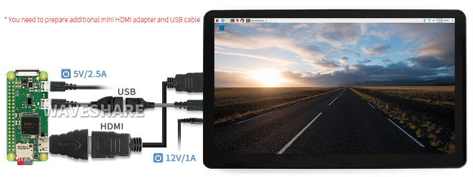 15.6inch HDMI LCD (H) (with case)