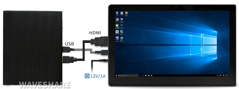 13.3inch HDMI LCD (H) (with case)