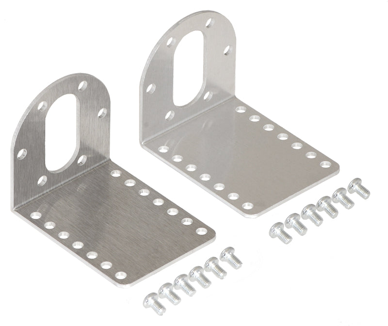 Pololu 37D mm metal gearmotor bracket pair.