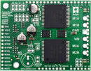 Pololu dual VNH5019 motor driver shield for Arduino.