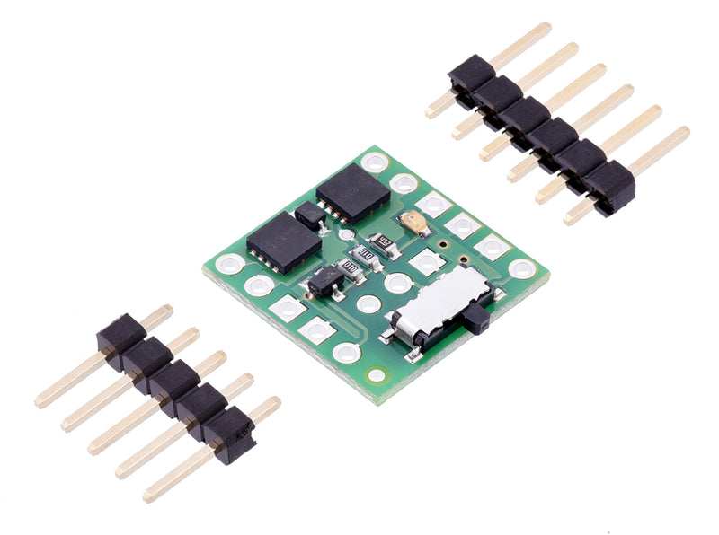 Mini MOSFET Slide Switch with Reverse Voltage Protection (LV) with included hardware.