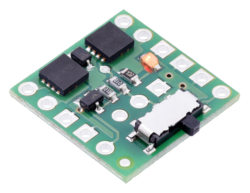Mini MOSFET Slide Switch with Reverse Voltage Protection, LV.