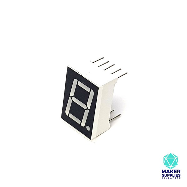 1 Digit 7 Segment LED Display (5611BH)