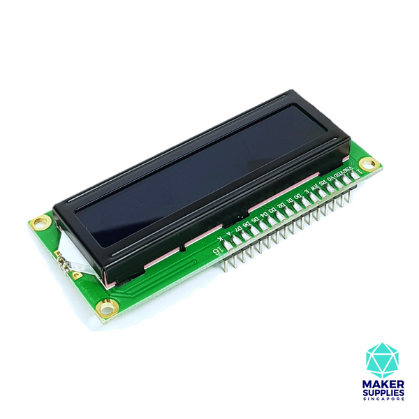 1602A LCD Liquid Crystal Display Blue Backlight