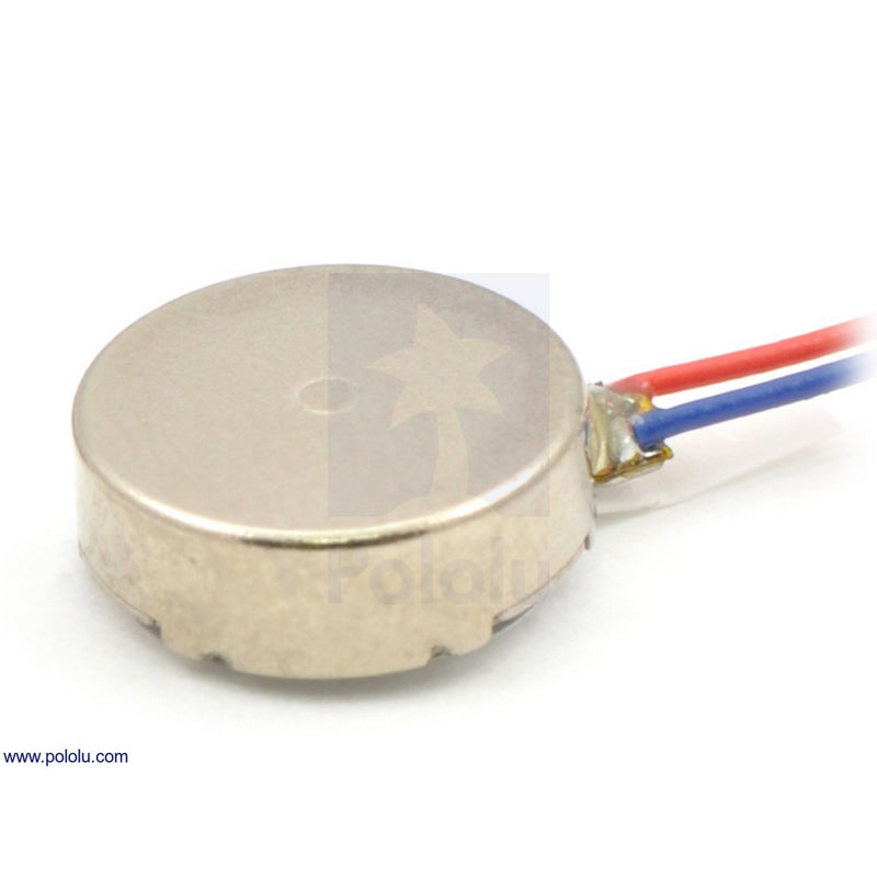Shaftless Vibration Motor 10x3.4mm Pololu 1636
