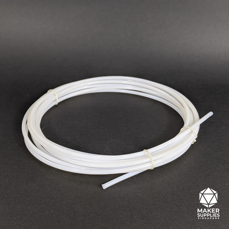 1m Standard White Bowden PTFE Tubing for 1.75mm Filament