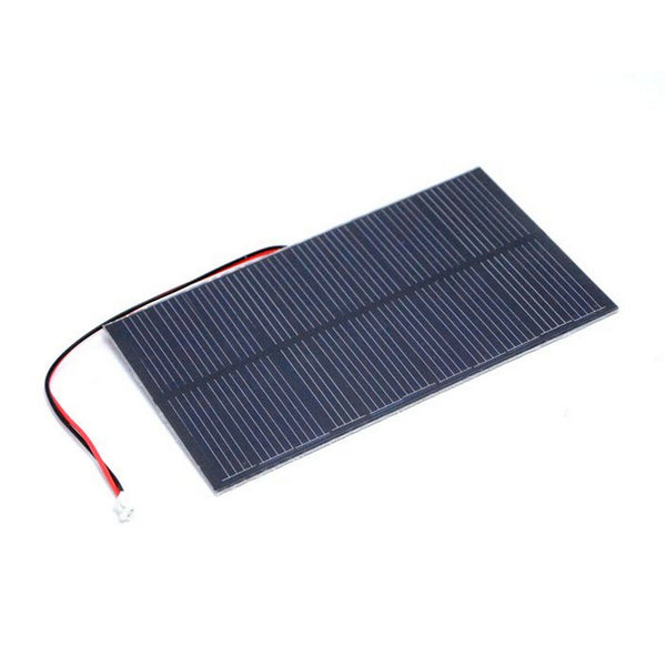 1.5W Solar Panel with JST PH2.0 Connector 81 x 137mm