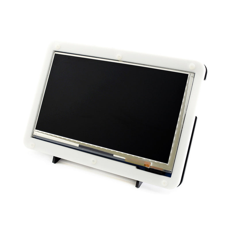 7 inch HDMI LCD (C) IPS Capacitive Touchscreen Display 1024x600 with Casing Stand