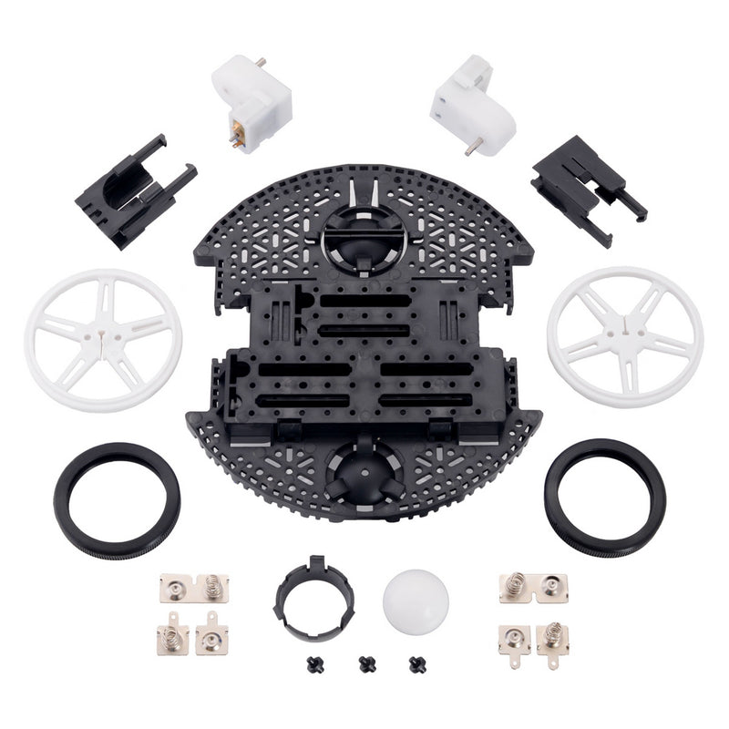 Romi Chassis Kit - Black Pololu 3500