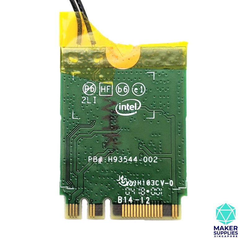 Intel Dual Band Wireless AC 8265 Module with Antennas